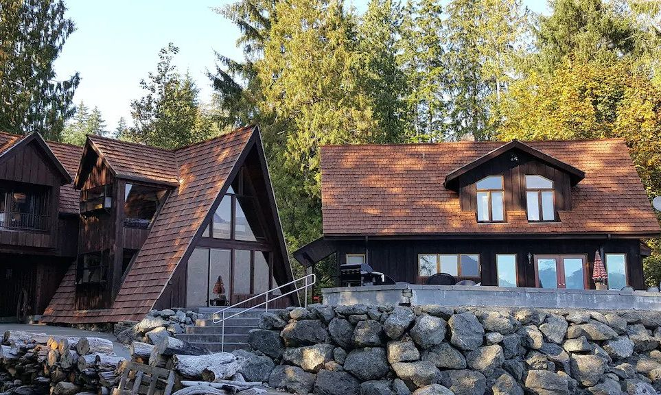 Two-House Estate in Olympic National Park