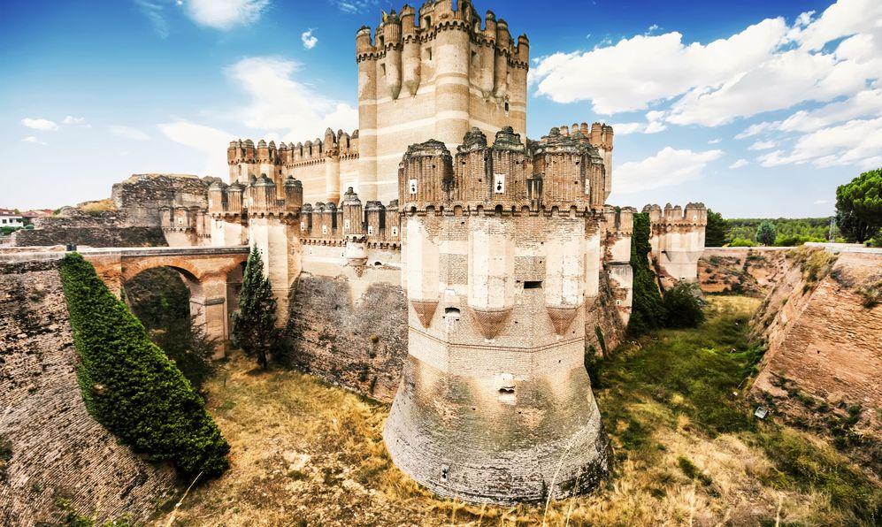 Coca Castle (Castillo de Coca) is a fortification constructed in the 15th century and is located in Coca, in Segovia province, Castilla y Leon, Spain.