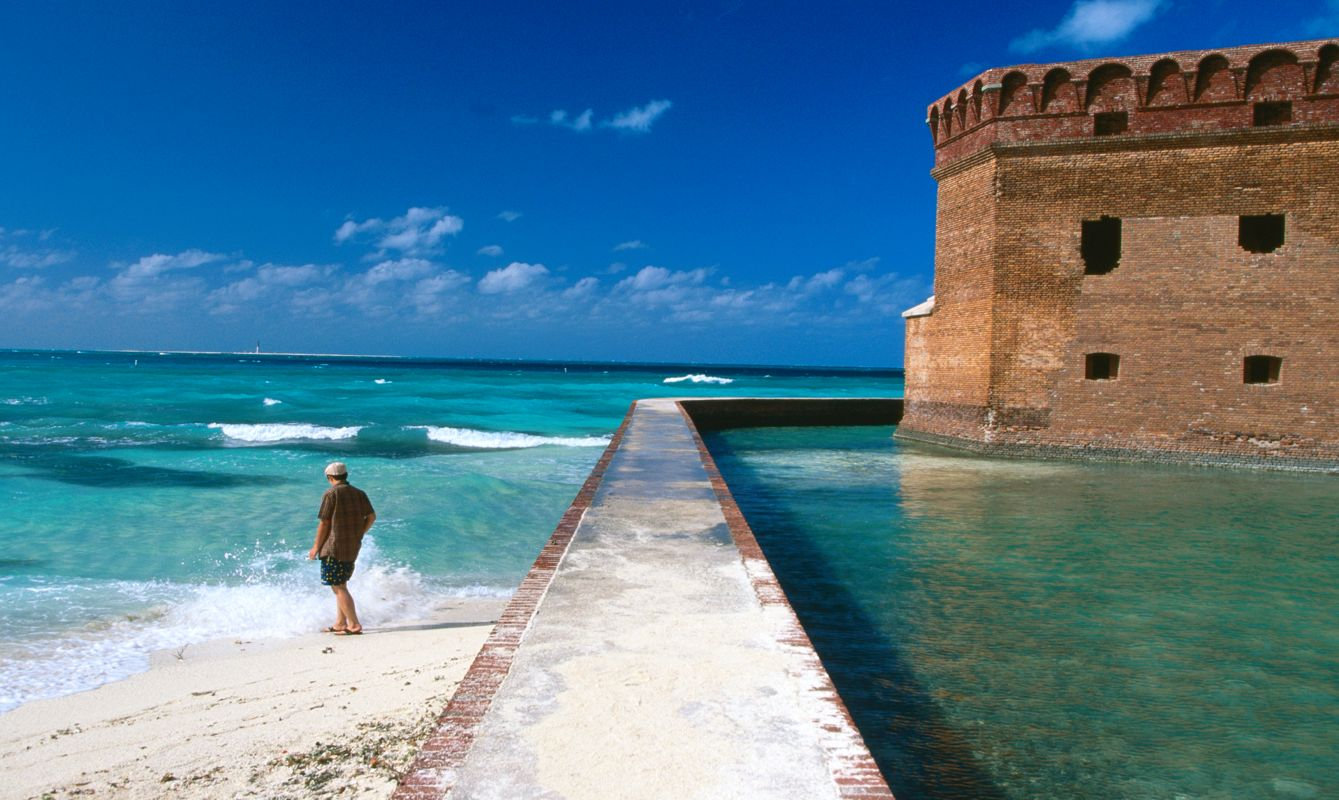 United States, Florida, Dry Tortugas National Park,