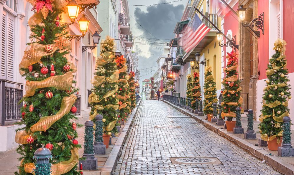 Christmas in San Juan Puerto Rico