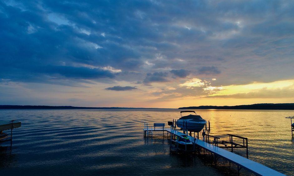 Sunset on Lake Charlevoix
