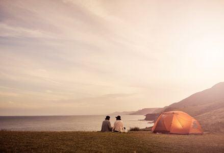 Scenic USA Camping Sports - Pretty as a Picture