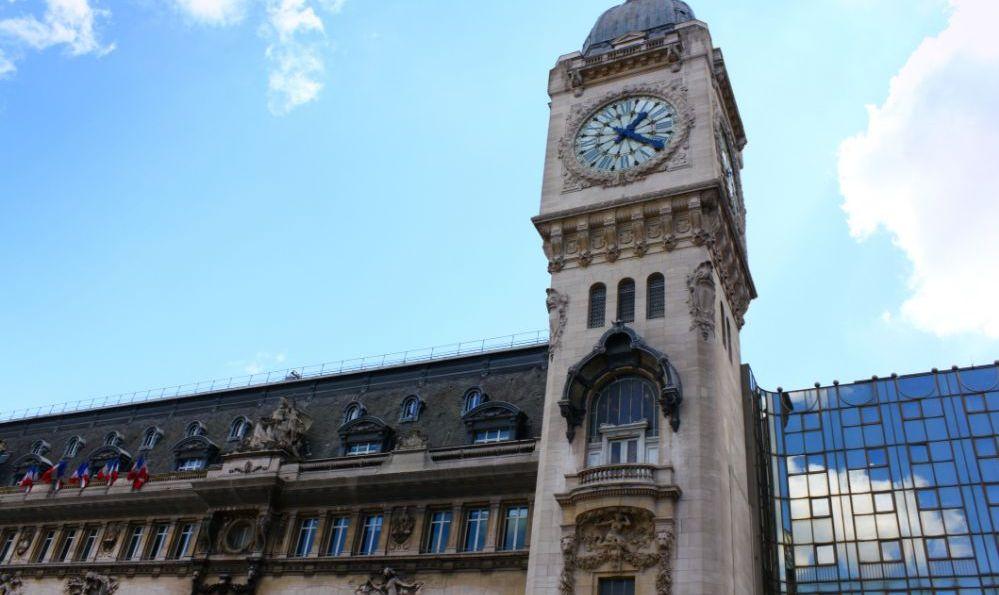 Gare De Lyon train station clock tower Paris, France