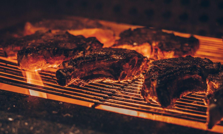 Barbecue on a grill - Curitiba, Brazil