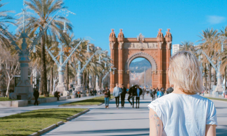 Arco de Triunfo de Barcelona, Barcelona, Spain