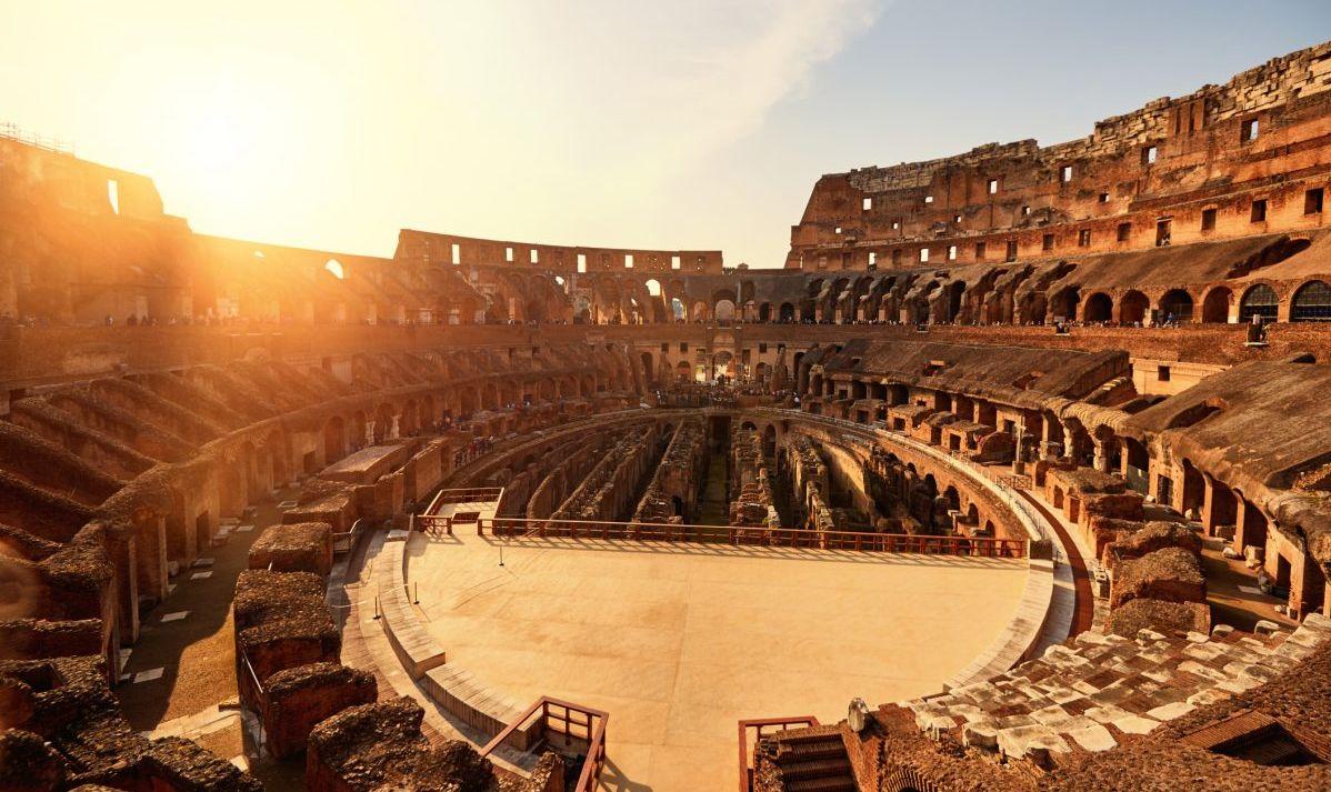 Inner Chambers Of The Roman Colosseum