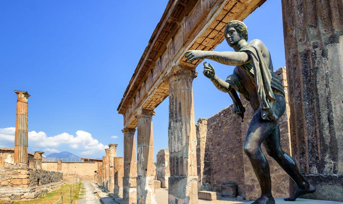 Temple Of Apollo At Ancient Pompeii