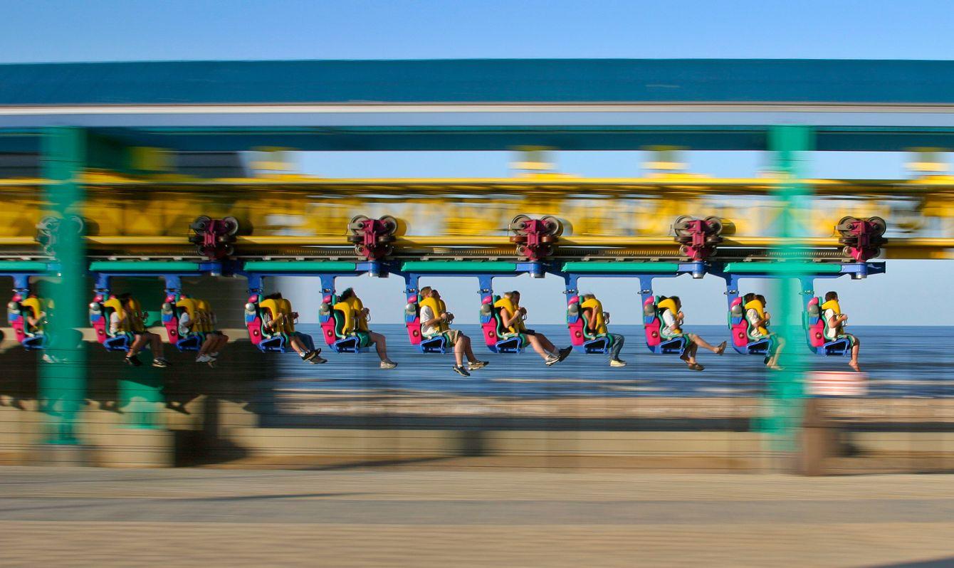 Wicked Twister. Cedar Point in Sandusky, Ohio
