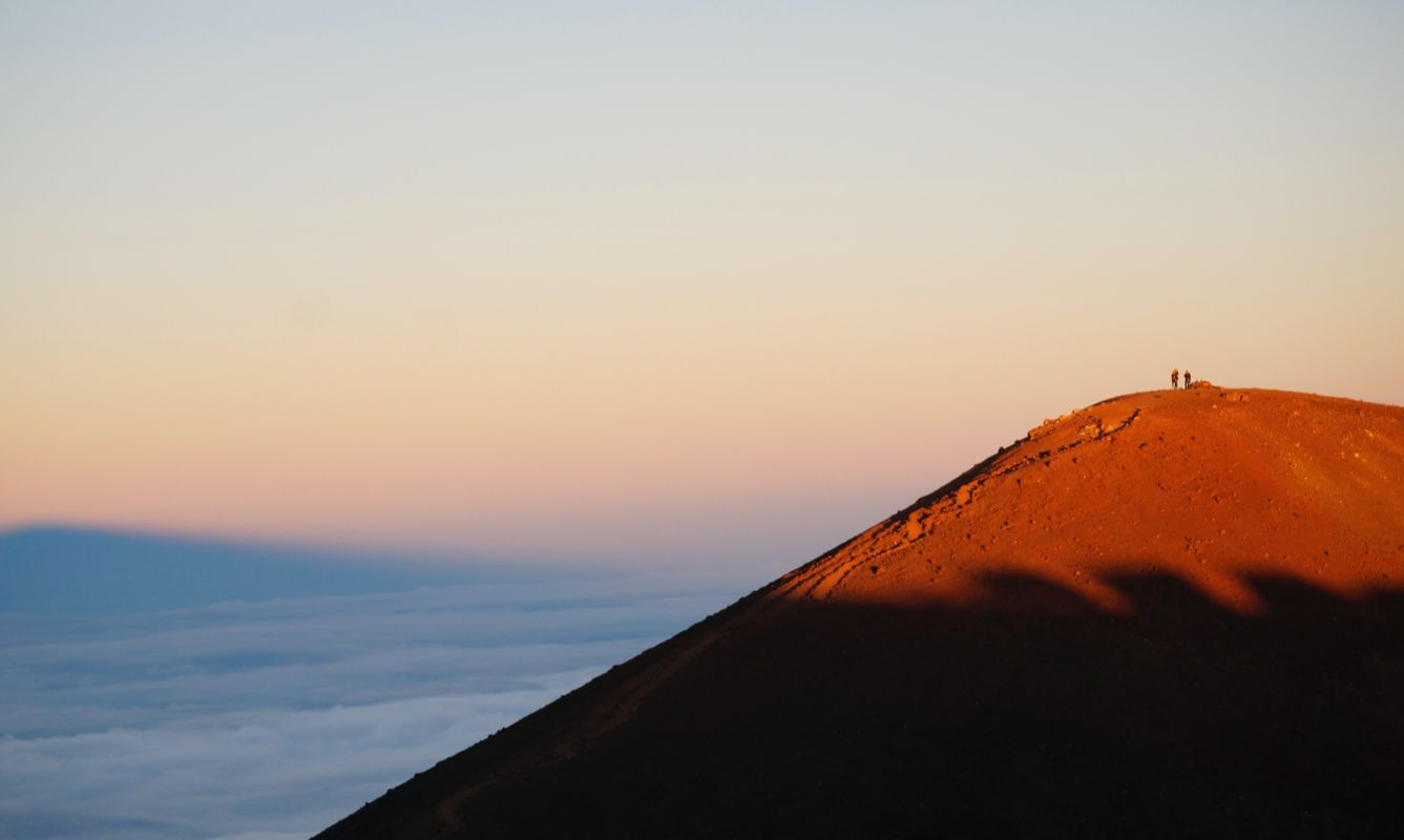 A sunset and star gazing tour to the top of Mauna Kea on the Big Island of Hawaii