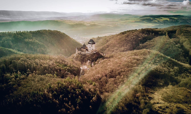 Karlštejn Castle, Karlštejn, Czechia