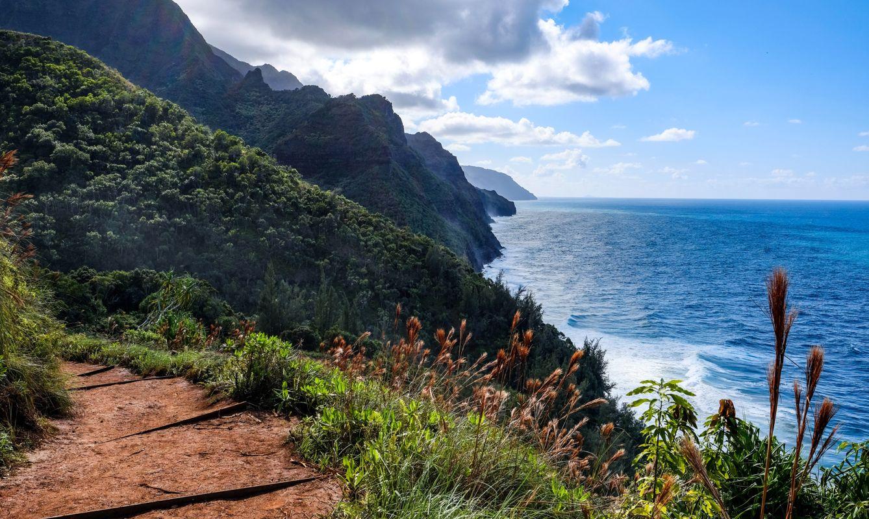 Kalalau Train in Kauai, Hawaii