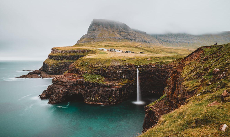 Múlafossur, Gasádalur, Faroe Islands