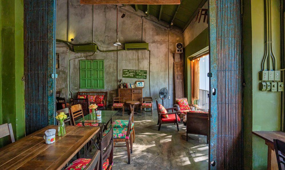 a local cafe in Da Nang, Vietnam