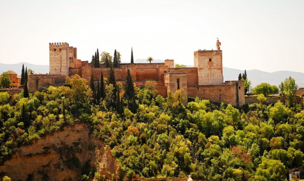 Castle on hilltop