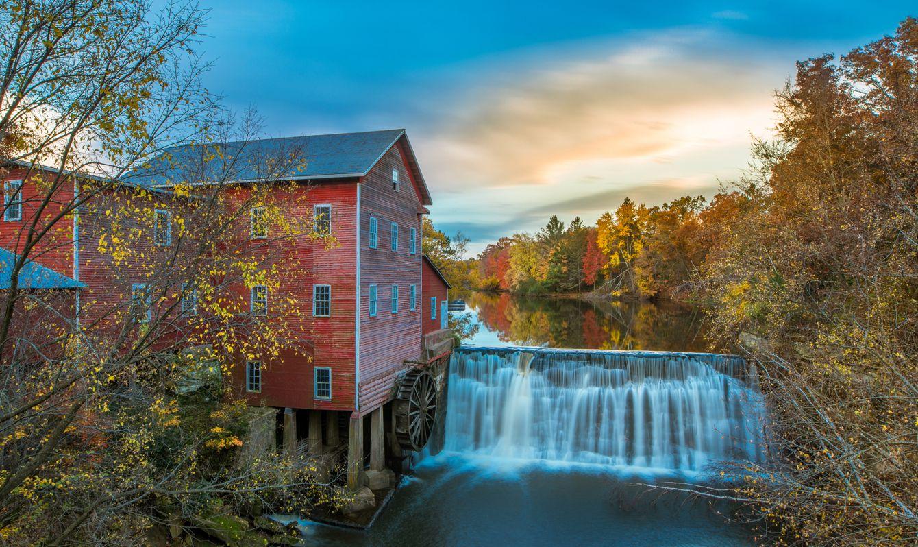 Wisconsin, Famous Place, Water, Waterfall, Wheel