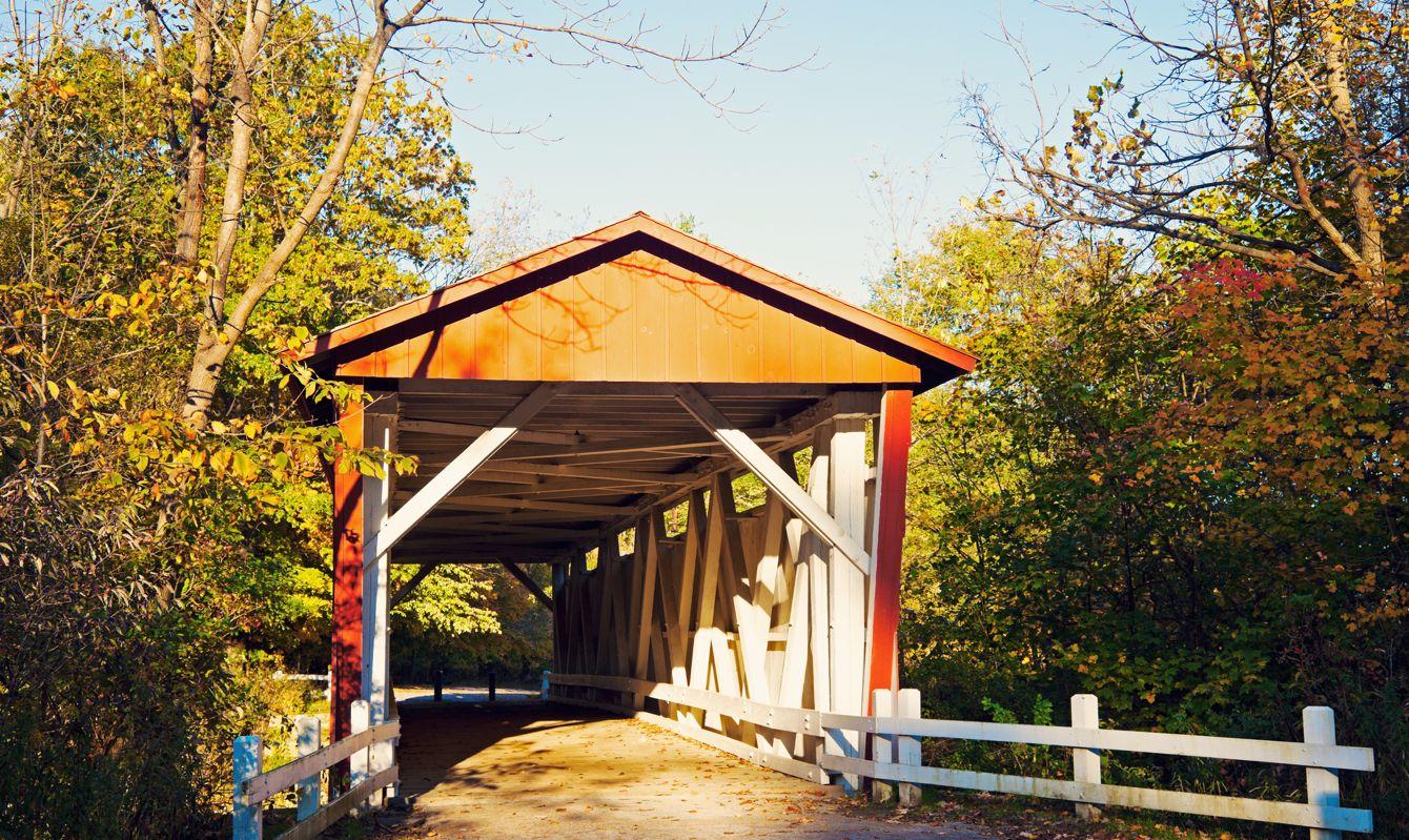Everett Road Covered Bridge - Cuyahoga Valley National Park.