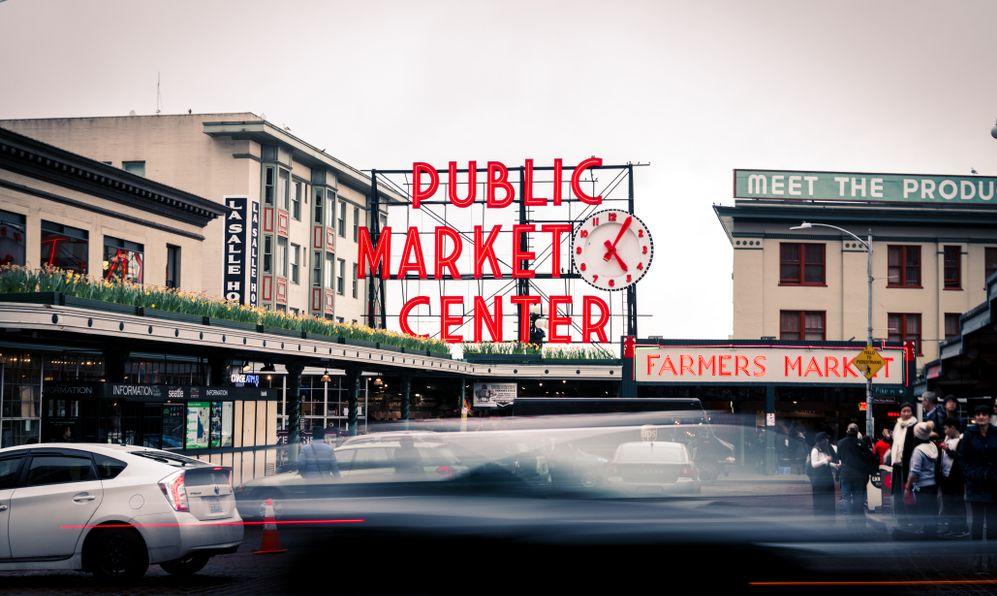 Pike Public Market, Seattle, Washington, USA
