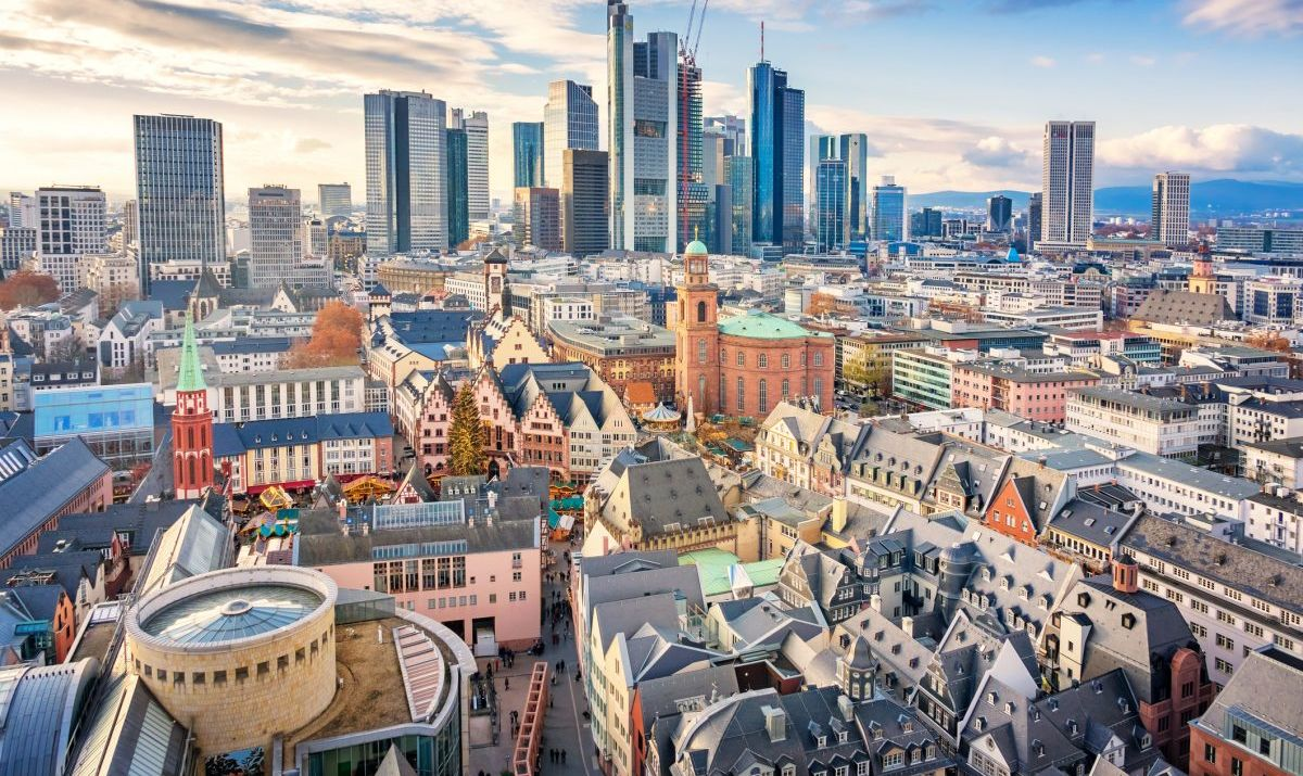 Frankfurt serves as the home base for Germany's airline, Lufthansa.