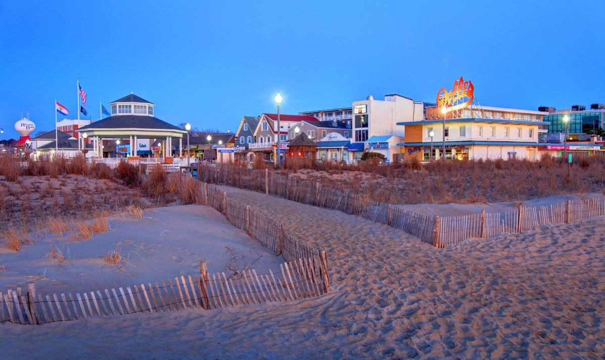 Rehoboth Boardwalk's vibe is relaxed