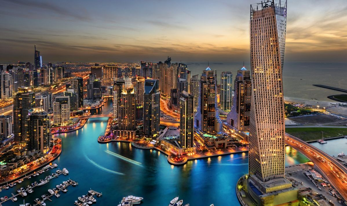 Dubai is the home base for Emirates, one of the world's largest airlines.