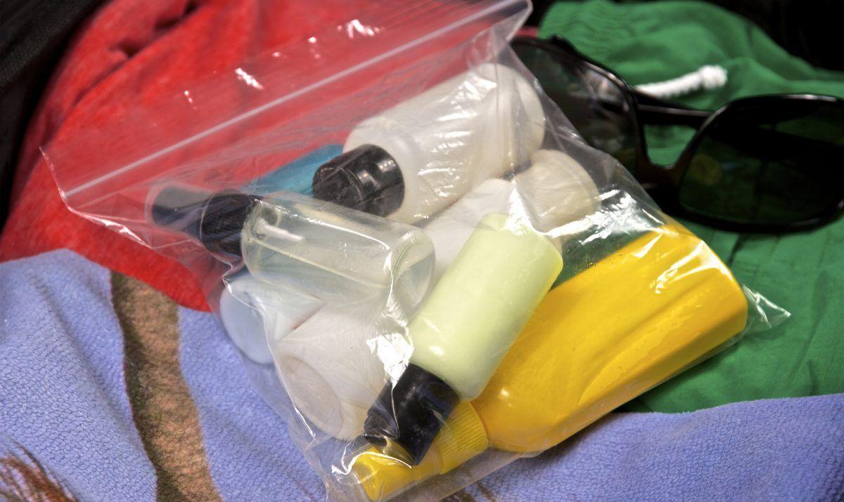 gel liquid plastic bag bottles