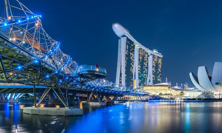 Singapore Airlines offers some of the world's best accommodations on its way to its home destination of Singapore.