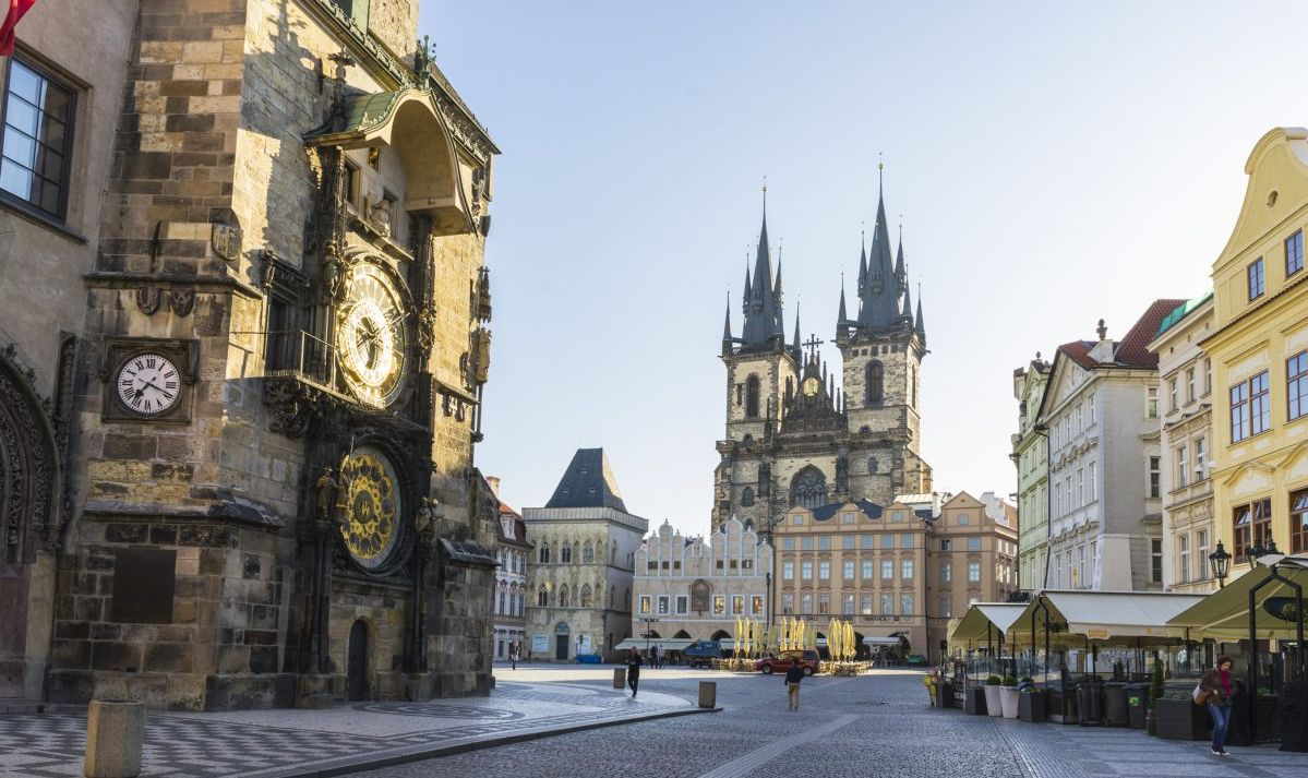 Prague is one of the most beautiful large cities in eastern Europe.