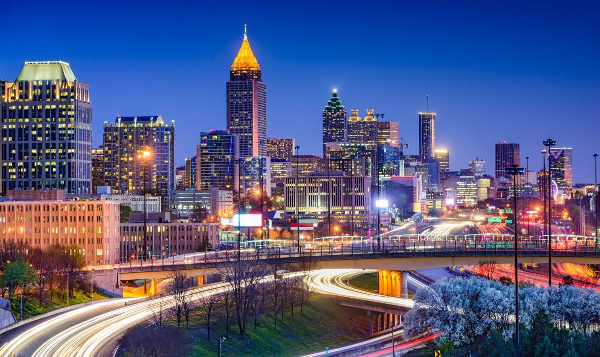 Atlanta is the hub of Delta Air Lines, as well as one of the world's busiest airports.