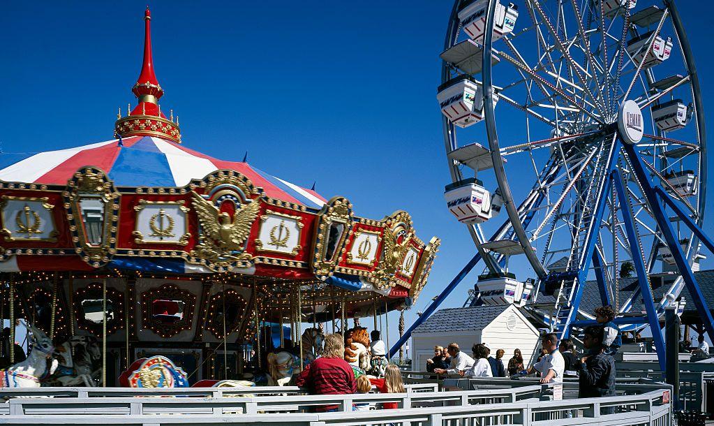 Amusement Park, Kemah, Texas