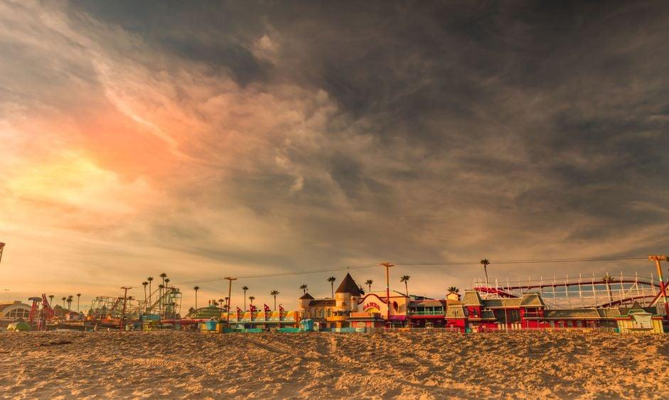 Early Evening on the Santa Cruz Boardwalk